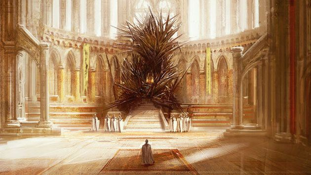 39 game of thrones 39 iron throne should be much bigger says for Iron throne painting