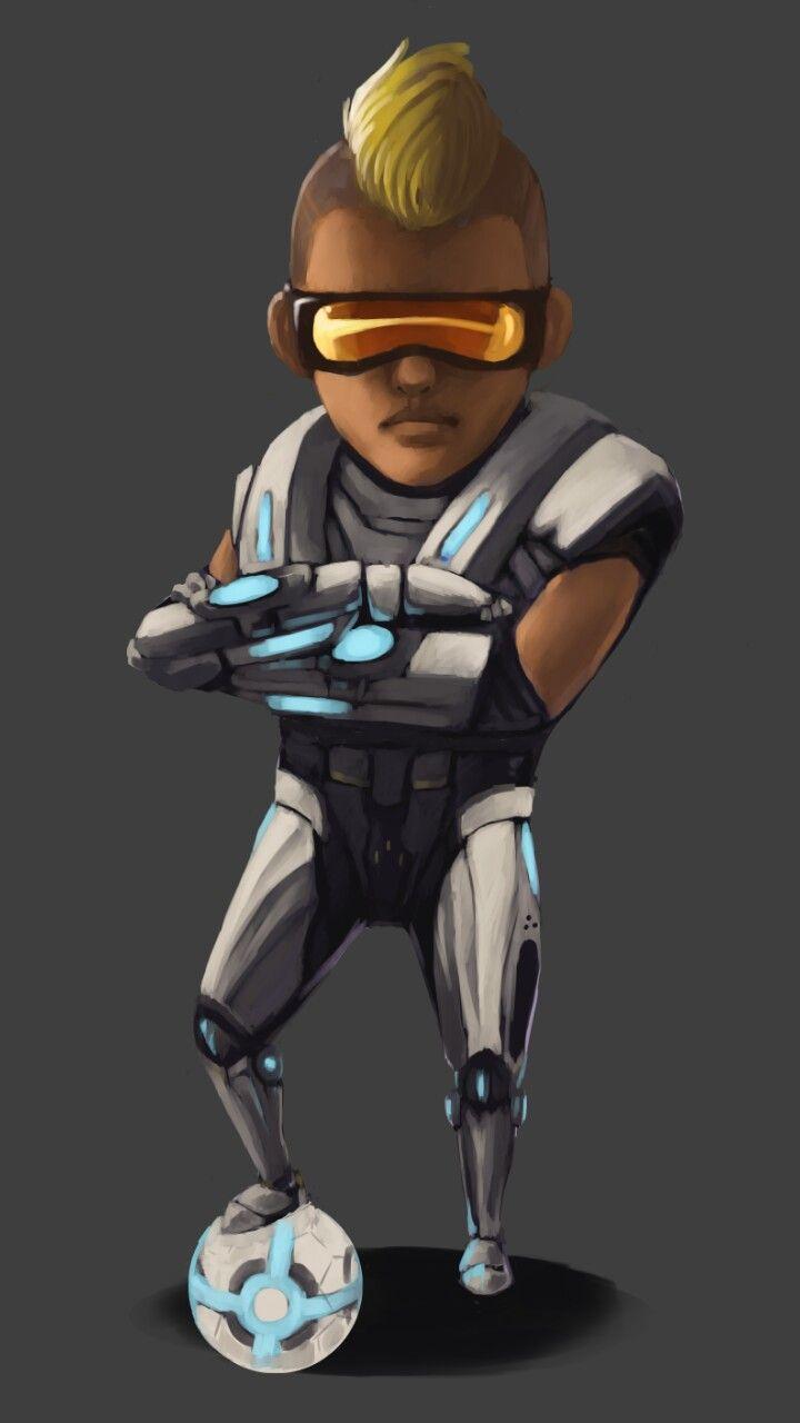 Bruno Fan Art Karakter Animasi Animasi Gambar