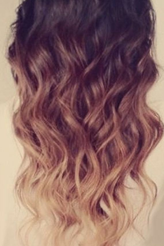 """Ombre Remy Fusion I Tip Stick Tip 100% Human Hair Extensions 16"""" 18"""" 20"""" on Etsy, $139.99"""