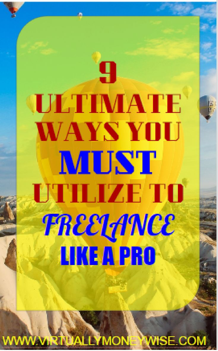 Do you want to become a Pro Freelancer in your field? It is easy to become one now with the help of these Ultimate Ways.