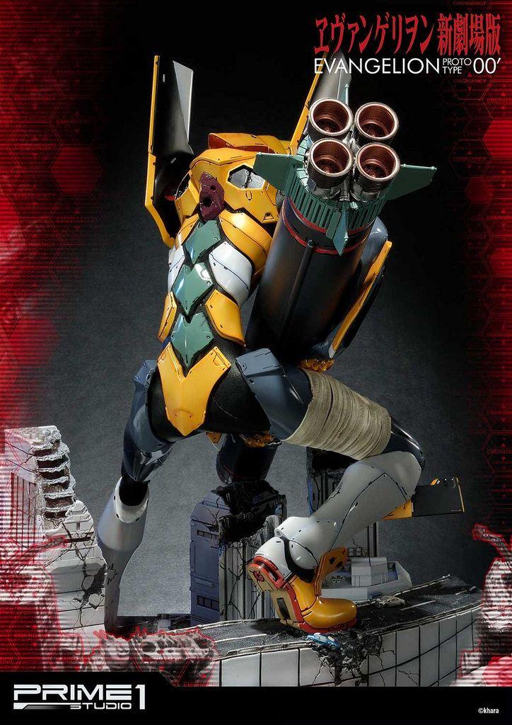 Prime1Studio《福音戰士新劇場版》汎用人型決戰兵器 人造人間 Evangelion(エヴァンゲリオン) 試作零號機(改) | 玩具人Toy People News