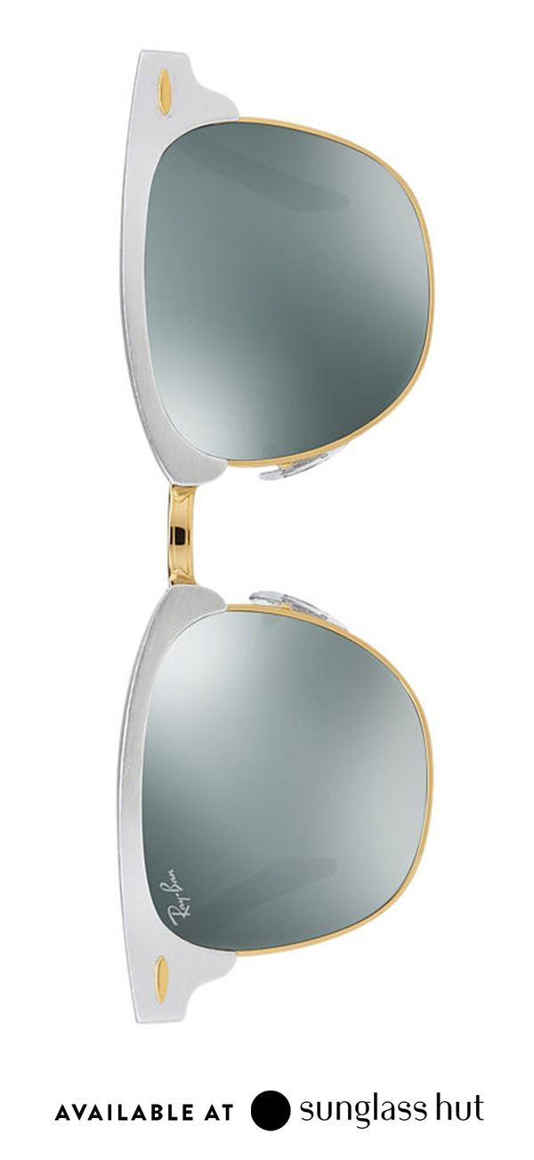 Why choose between silver and gold when you can give both? Metallic Ray-Ban sunglasses make a great gift for friends, family members or significant others. Plus, their timeless style and versatility will keep your gift in heavy rotation all year. Find them and thousands of other options at Sunglass Hut.