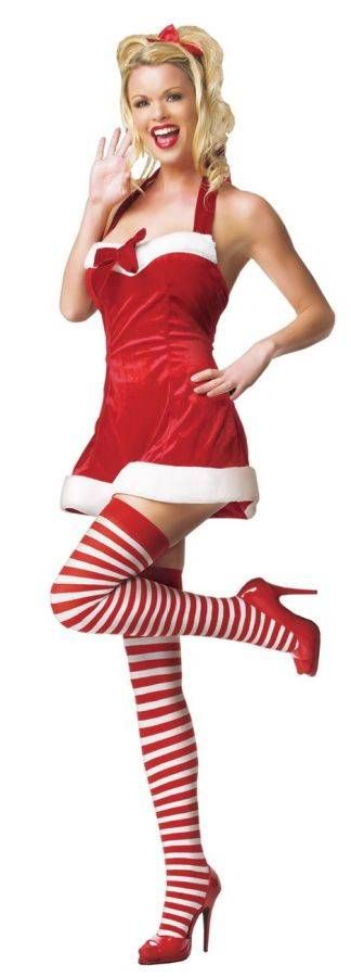 18 Best Sexy Mrs Clause Amp Elf Costumes Images On Pinterest