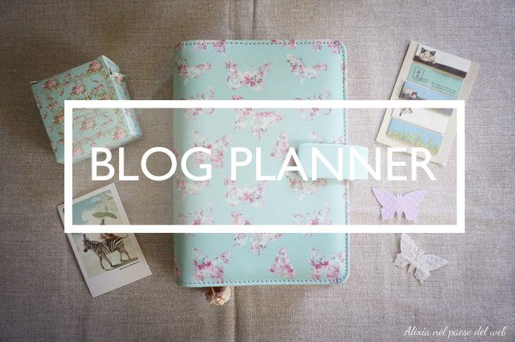 Blogger Planner stampabile gratuitamente || free printable blog planner