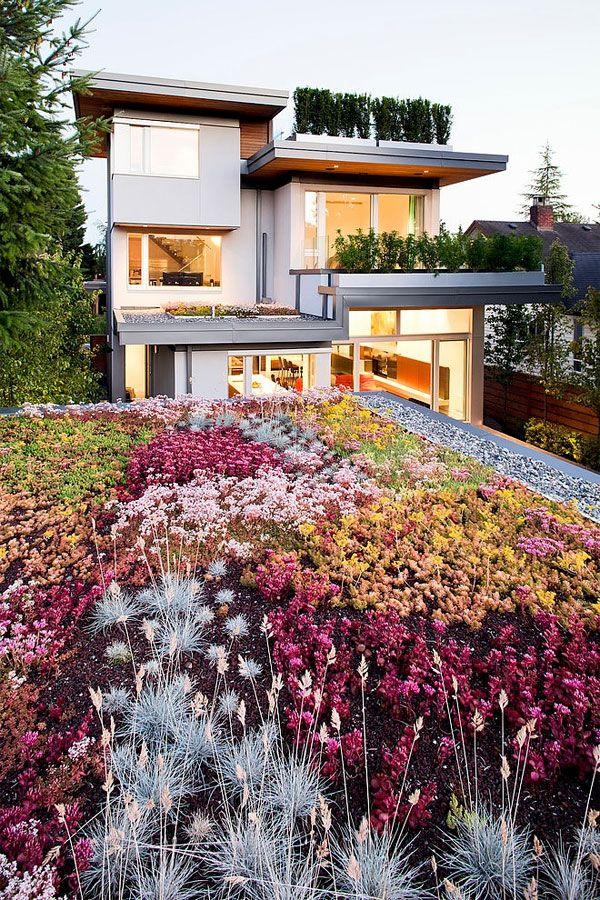 132 besten Rooftop Gardens Bilder auf Pinterest Dachterrassen - dachterrasse gestalten stadtoase wasserspielen miami