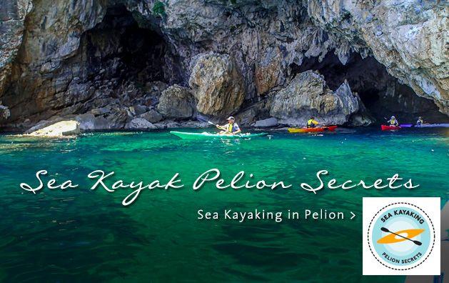 Sea Kayak Pelion Secrets. Sea Kayaking in Greece. #seakayaking #pelion #greece #travel #sport #travelguide #dreamingreece #kayak #vacation