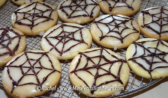 gâteaux-toiles-d'araignées