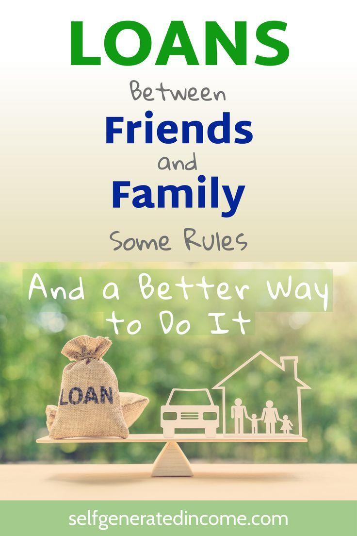 Borrowing Money From Family And Friends In 2020 The Borrowers Borrow Money Money Apps