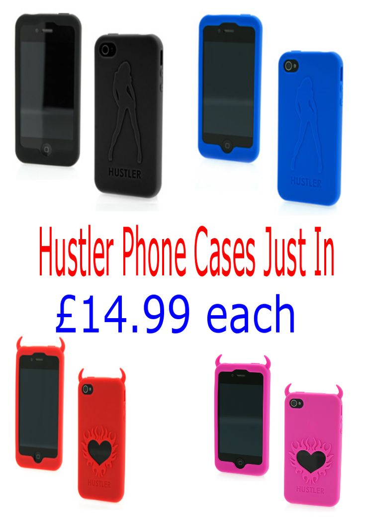 Novelty Hustler Phone cases