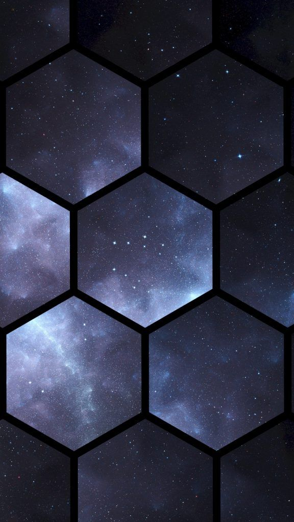 Hexagons Space Patterns Wallpaper Background Iphone Cool Backgrounds Phone Wallpaper Images Background Hd Wallpaper Iphone Background