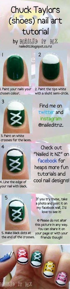 25 best ideas about sneaker nails on pinterest converse