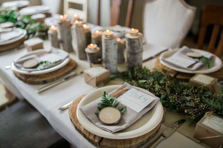 woodland themed baby showers | Whimsical Woodland Theme Baby Shower from @cydconverse