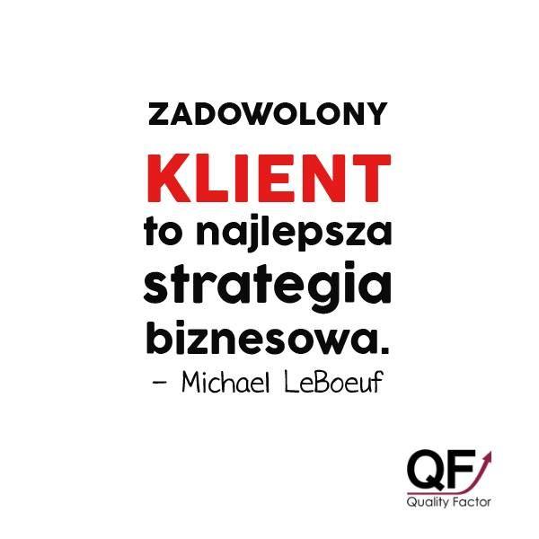 Pamiętaj - żadna forma #marketingu, nie zastąpi najwyższego poziomu obsługi klienta! ➡ http://q-f.pl/