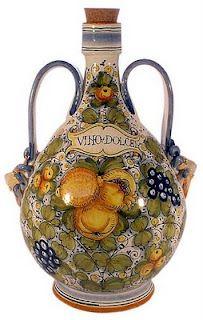 Italian ceramic art.