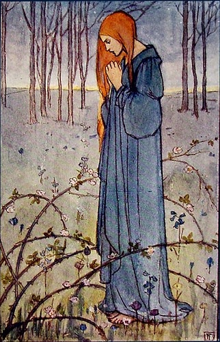 Angel de mi guardaSusan Harrison, Florence Susan, Inner Ground, Bud Flower, Illustration, Art, Florence Harrison, Emma Florence, Fairies Tales