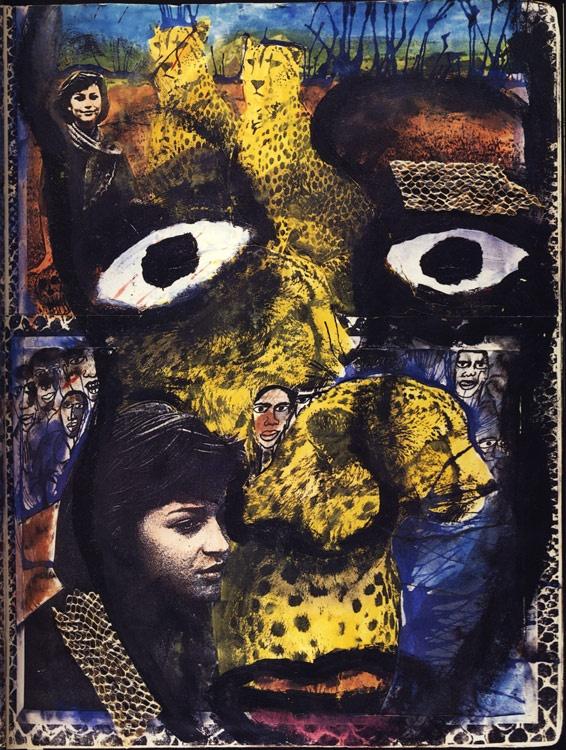 The Journey is the Destination ~ Dan Eldon Journal Artwork.   http://www.daneldoncollection.com/life-work/