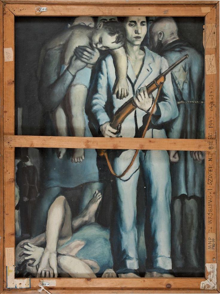 Andrzej Wróblewski (1927-1957) jest niewątpliwie jednym z najważniejszych polskich artystów XX wieku. To z jednej strony malarz zaangażowany w socrealizm, a z drugiej - autor eksperymentów formalnych z pogranicza abstrakcji i twórca niezwykle sugestywnej wizji wojny i degradacji człowieka. Jego bogata i niebywale zróżnicowana twórczość powstała w bardzo krótkim czasie, w bardzo niespokojnych czasach.