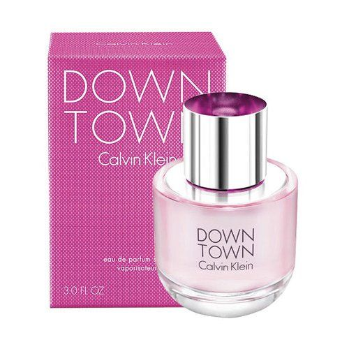 Calvin Klein - Down Town 50 ml EDP gavesæt - Kvinder