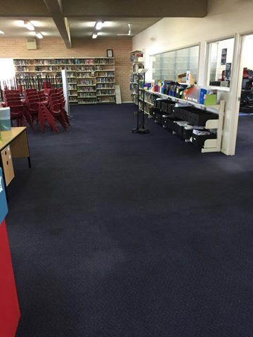 Carpet cleaning at Marist College Pagewood