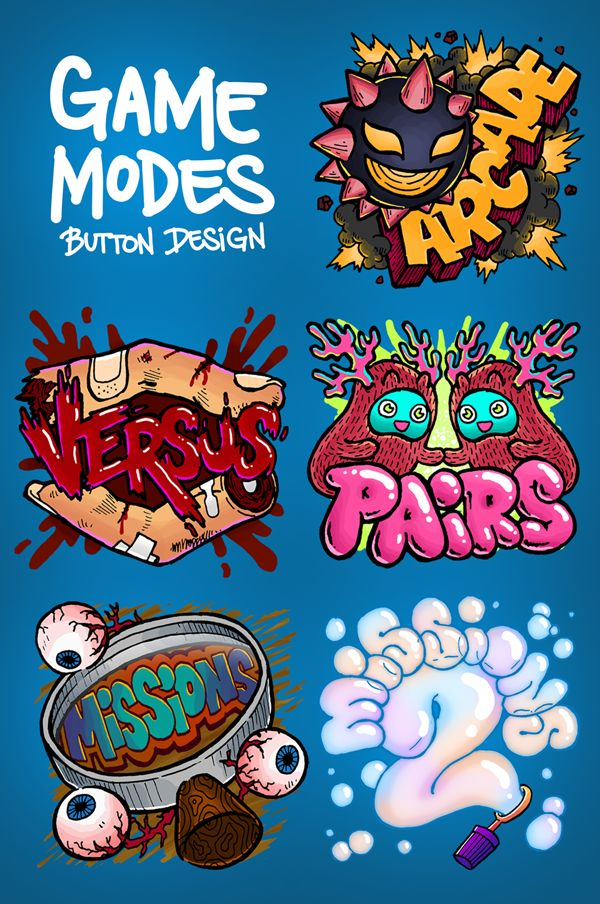 Hidden Doodles Game by Lei Melendres, via Behance