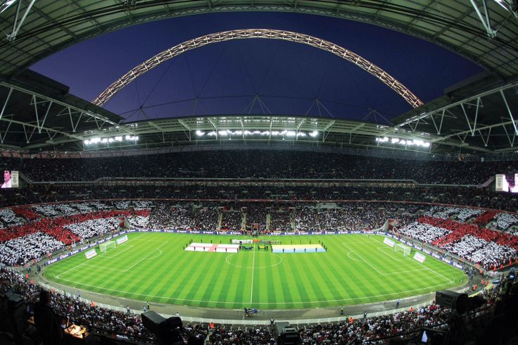 The new Wembley needs no introduction, 90,000 capacity and