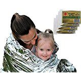 Kangaroo Emergency Thermal Blankets (Pack of 10) Hurricane #prepare#preapredness#list#food#kit#hacks#kids #adults#power#outages#pets#ideas#families#apartment#condo#home#house#thoughts#tips#howto#diy#survival#urban#flood#medical#supplies#supply#simple#easy#saftey#safe#first#aid #vcmblog#amazon#affiliate#ad#notmyimage#reviewimage
