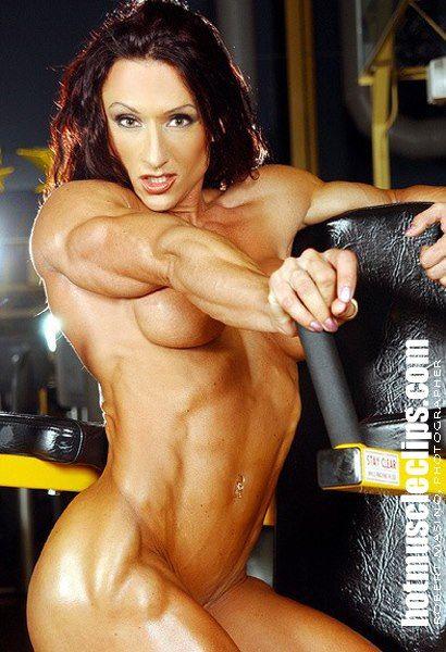 Autumn raby female bodybuilder