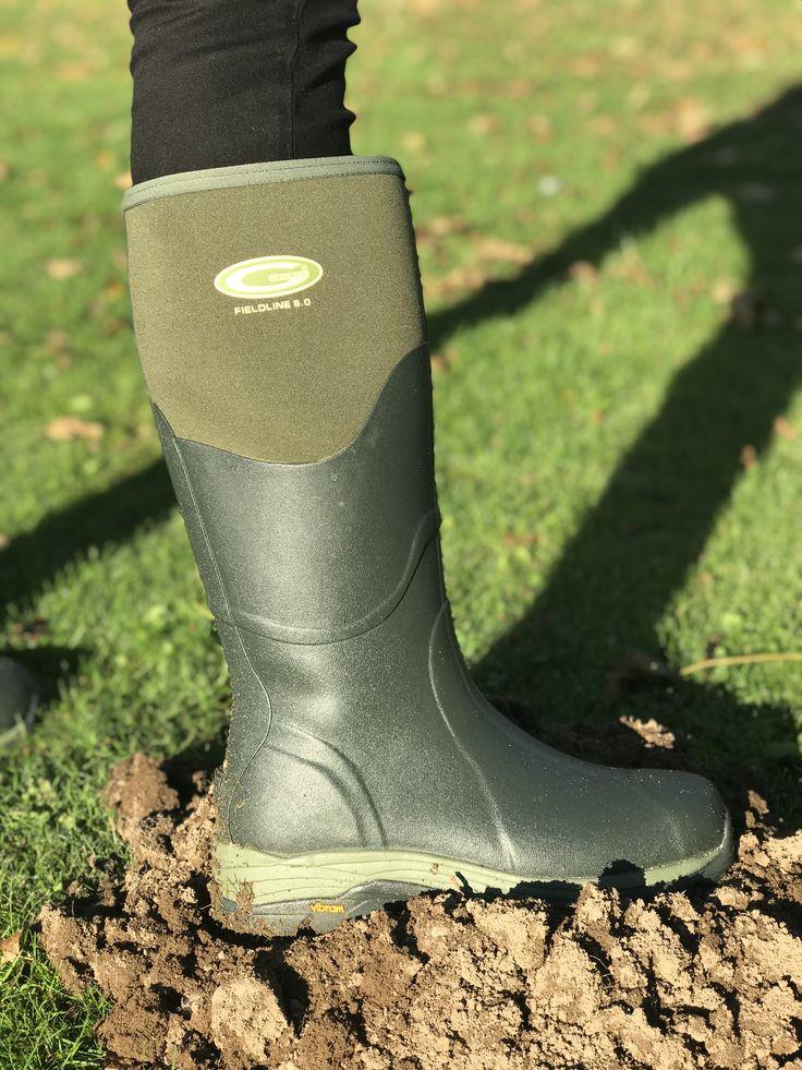 Fieldlines 5.0 The Internet Gardener Exclusive #Grubboots #neoprene #Vibram #Grubs #Autumn #Mossgreen