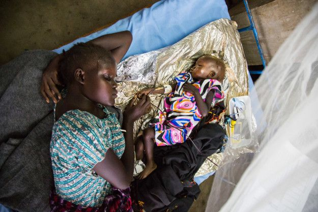 The latest report by Relief Web indicated that almost 8 million of the country's population of around 10 million are in need of international assistance. | South Sudan Declares Famine As Thousands Face Starvation
