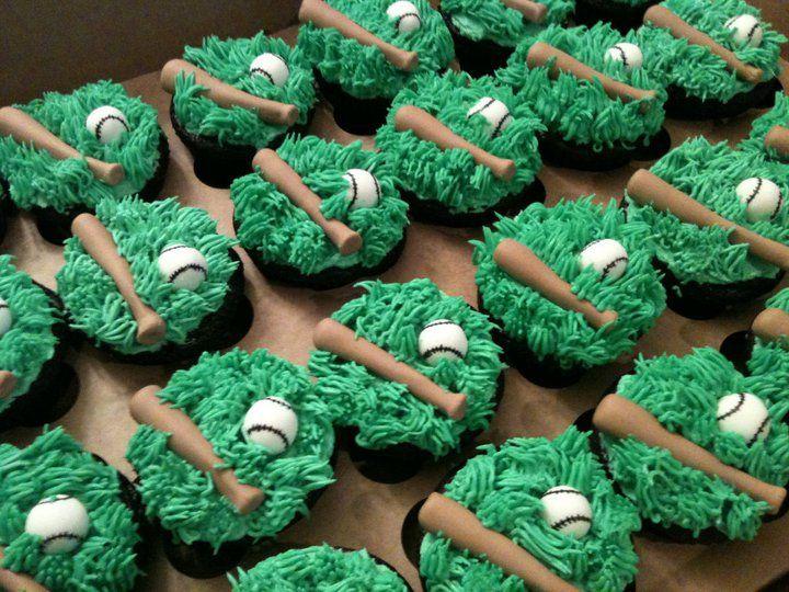 baseball: Idea, Baseb Cakes And Cupcake, Baseb Theme Cupcake, Softball Cupcake Cakes, Baseb Cupcake Cakes, Baseb Boyfriends, Baseb Parties Cakes, Baseball Cupcakes, Baseball Boyfriends