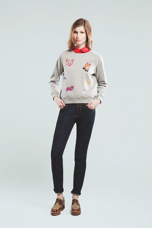 [No.15/16] MAISON KITSUNÉ 2013~14秋冬コレクション   Fashionsnap.com