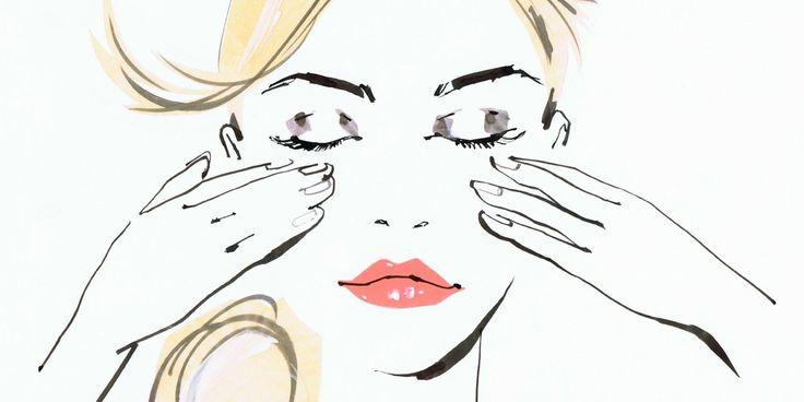 Zur Reinigung der empfindlichen Haut eignen sich Mizellenwasser, so z.B. mit Yon-Ka Eau Micellaire - für eine Gesichtsreingung ohne Wasser.