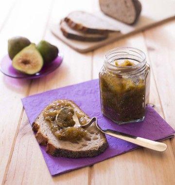 Photo de la recette : Confiture figue blanche cardamome légère en sucre