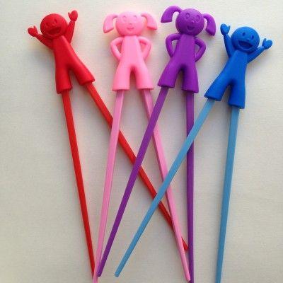 Children's Training Chopsticks http://littlebentoworld.com/shop/cutlery/training-chopsticks/