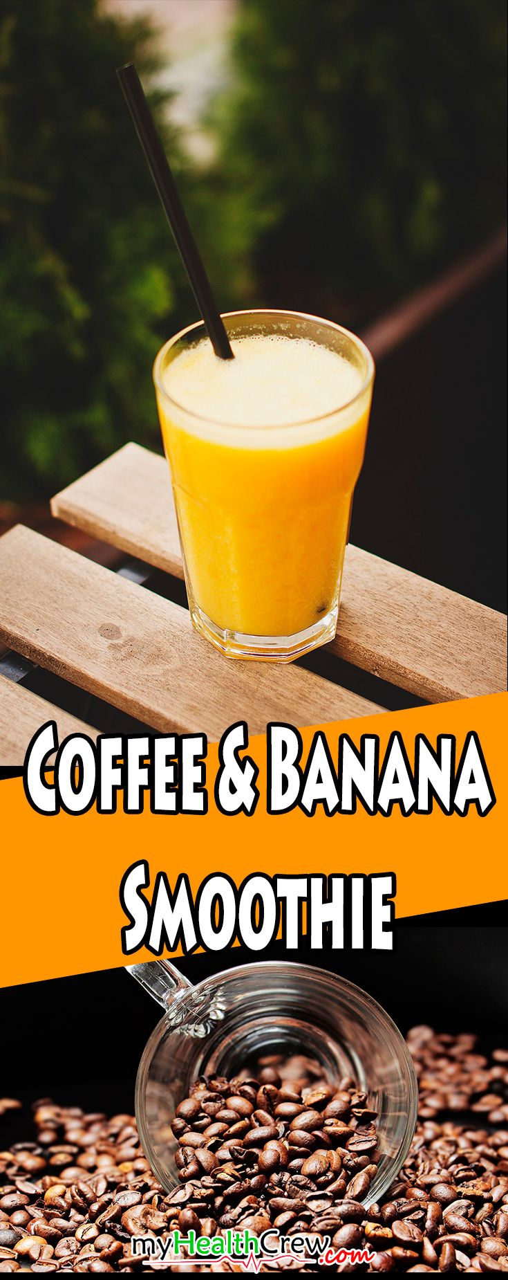 The Perfect Mood Coffee And Banana Smoothie