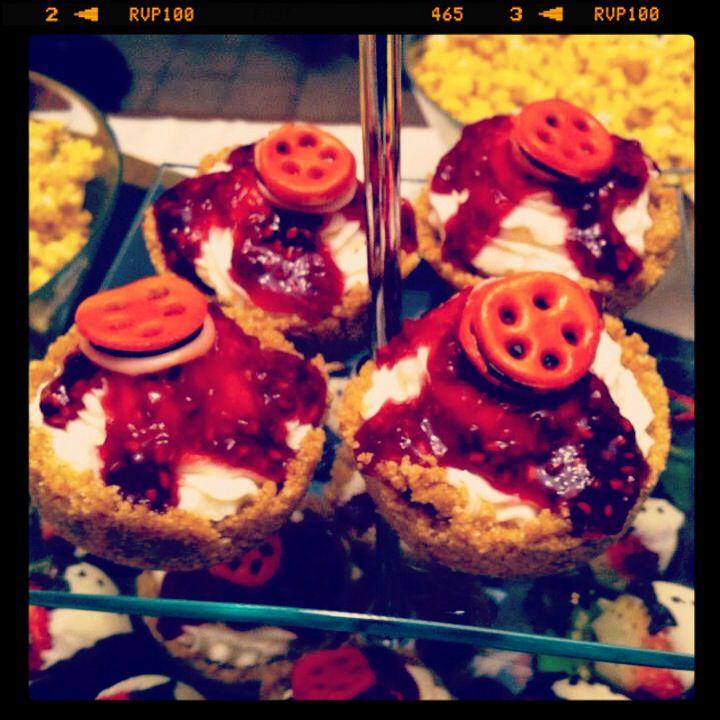 Oscar-worthy cheesecakes