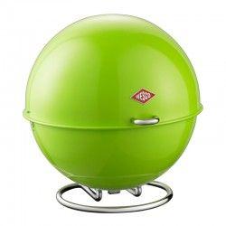 Wesco Superball Bread Bin - Lime Green - bright bread bin