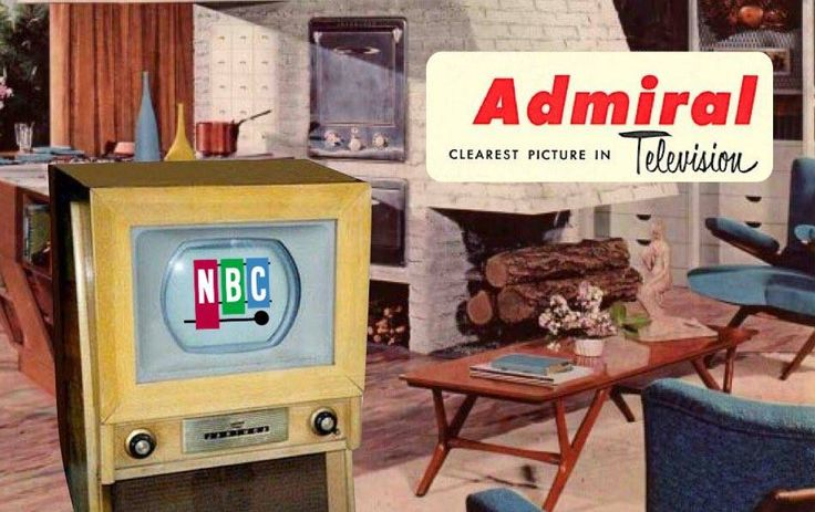 December 30th 1953 - Admiral introduced the first home color television set