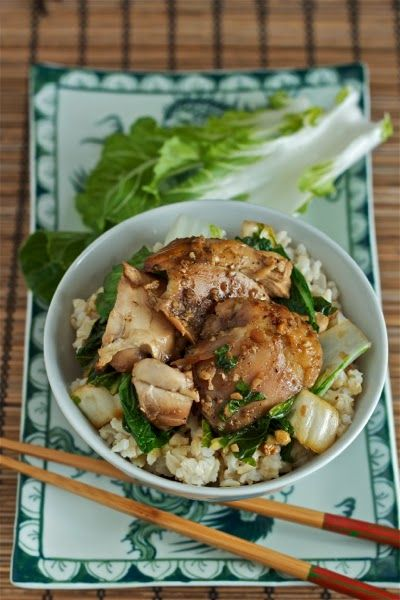 Vietnamese slow cooker chicken with bok choy (only 5 minutes of prep ...