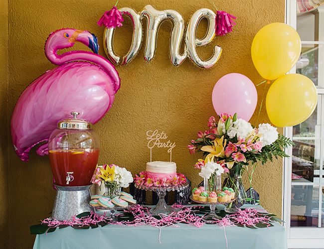 Pink Flamingo Birthday Party - Inspired by This