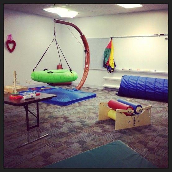 A simple sensory gym ot websites pinterest swings