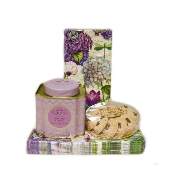 Sloane Tea & Mary McLeod Shortbread Cookies Gift Set