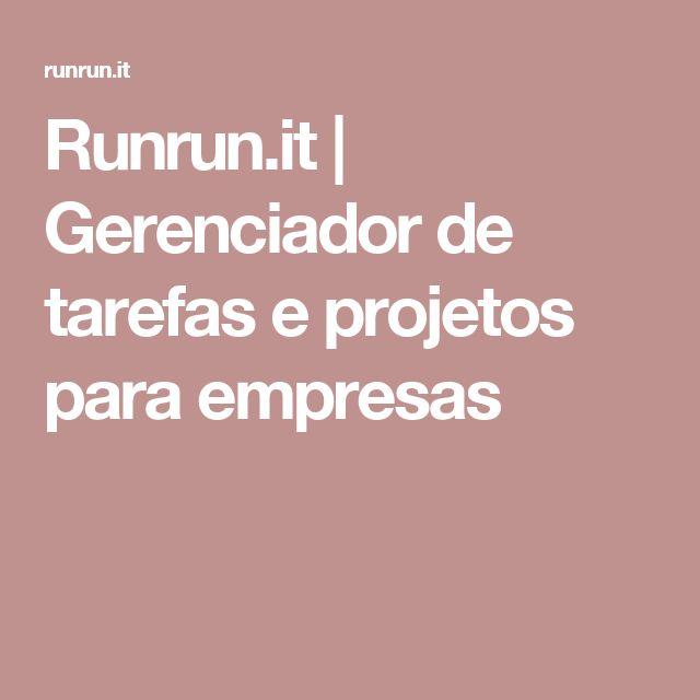 Runrun.it | Gerenciador de tarefas e projetos para empresas