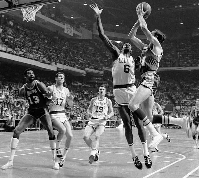 Jerry West, Los Angeles Lakers.