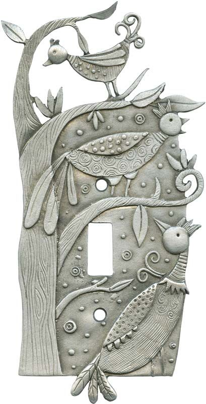 Bizzare Birds Light Switch Plates, Outlet Covers, Wallplates