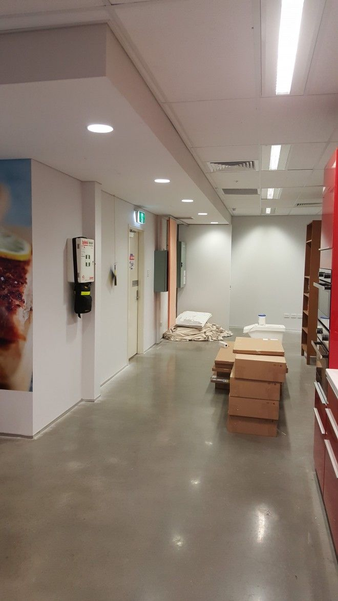 Commercial Painting At Ikea Perth  www.colourperfectdecorating.com.au #Au #Perth #Perth_commercial_painters #Painters_perth #Commercial_painters