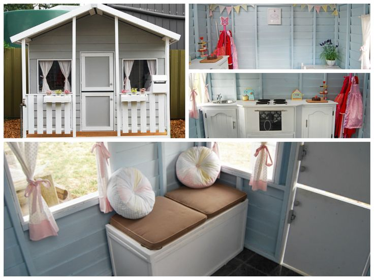 1000 images about cubby houses on pinterest play houses. Black Bedroom Furniture Sets. Home Design Ideas