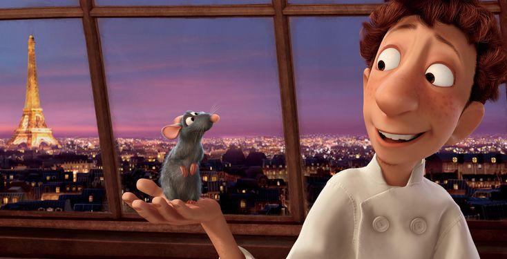 Ratatouille - Kino-Tipp - Durch Zufall verschlägt es die Ratte Remy in ein Fünf-Sterne-Restaurant in Paris.