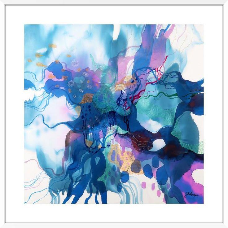John Martono 'Flying'   Framed Art Print