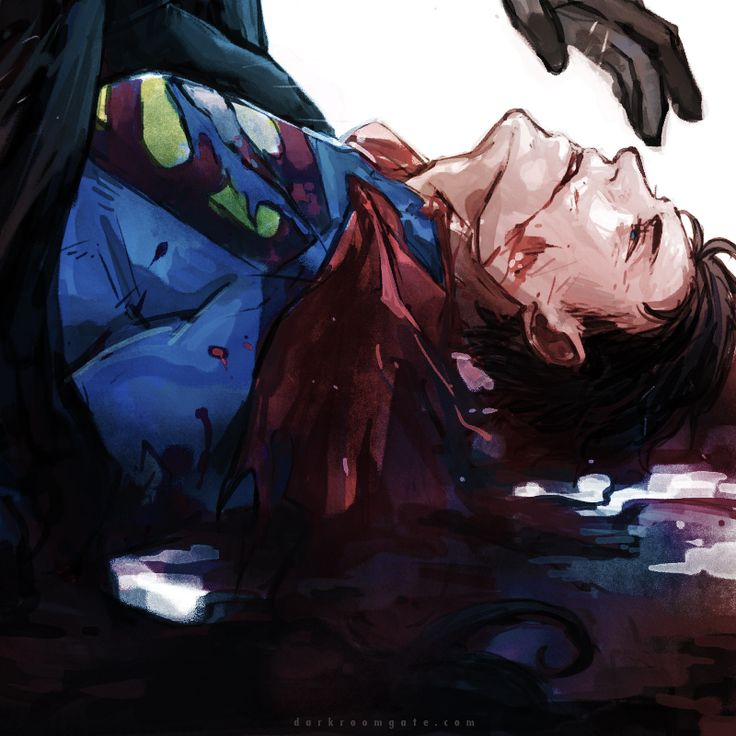 death of superman batman - photo #3